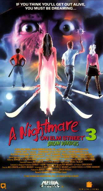 anightmareonelmstreet3dreamwarriors-vhs